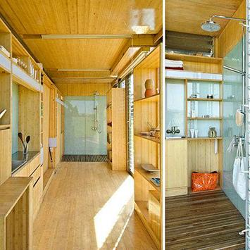 Container Home Interior poster