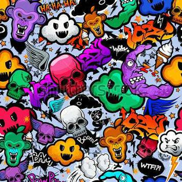 Graffiti Art Patterns screenshot 15