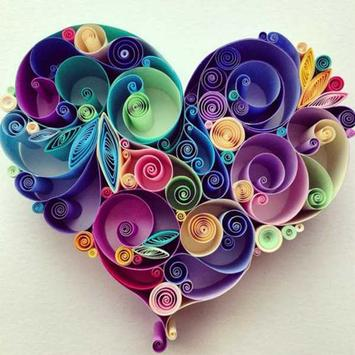 DIY Paper Quilling poster