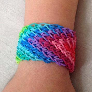 Rainbow Loom Bracelet poster