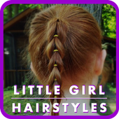 Cute Little Girl Hairstyle icon