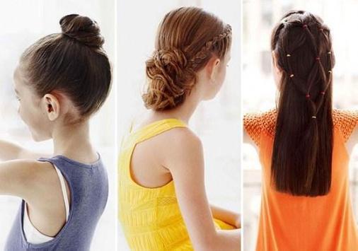Cute Little Girl Hairstyle screenshot 3