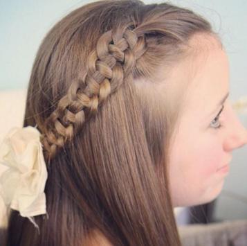 Cute Little Girl Hairstyle screenshot 1