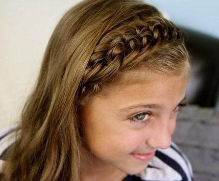 Cute Little Girl Hairstyle screenshot 4