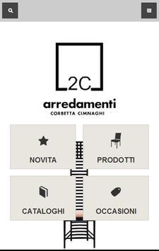 2C Arredamenti poster