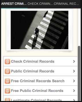 Criminal Records Search Free >> Arrest Criminal Records Search For Android Apk Download
