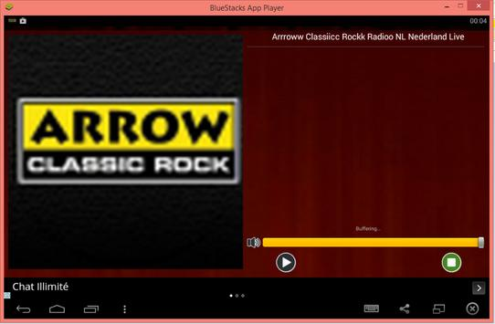 Arroww Classiic Rockk Radio NL screenshot 1