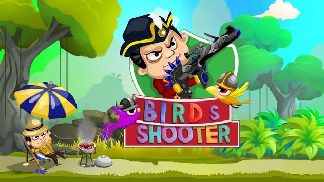 Paradise Birds Shooting Game Free - Shooting Birds poster