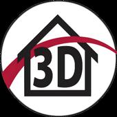 Design America 3D icon