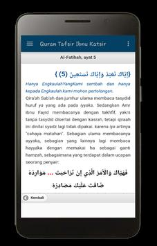 Tafsir Ibnu Katsir screenshot 6