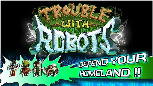 Trouble With Robots apk screenshot