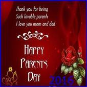 Happy Parents Day 2016 icon