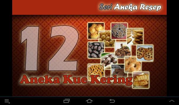 Resep: Aneka Kue Kering poster