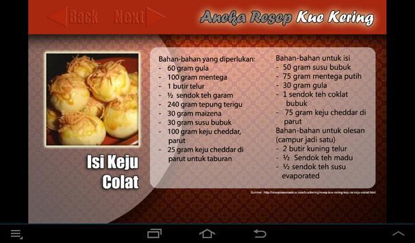 Resep: Aneka Kue Kering screenshot 2