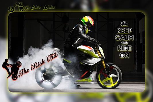 Racing Bike Photo Editor: Bike Photo Frame poster