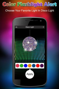 Color Flashlight on Call & SMS - Torch Flash Alert screenshot 3