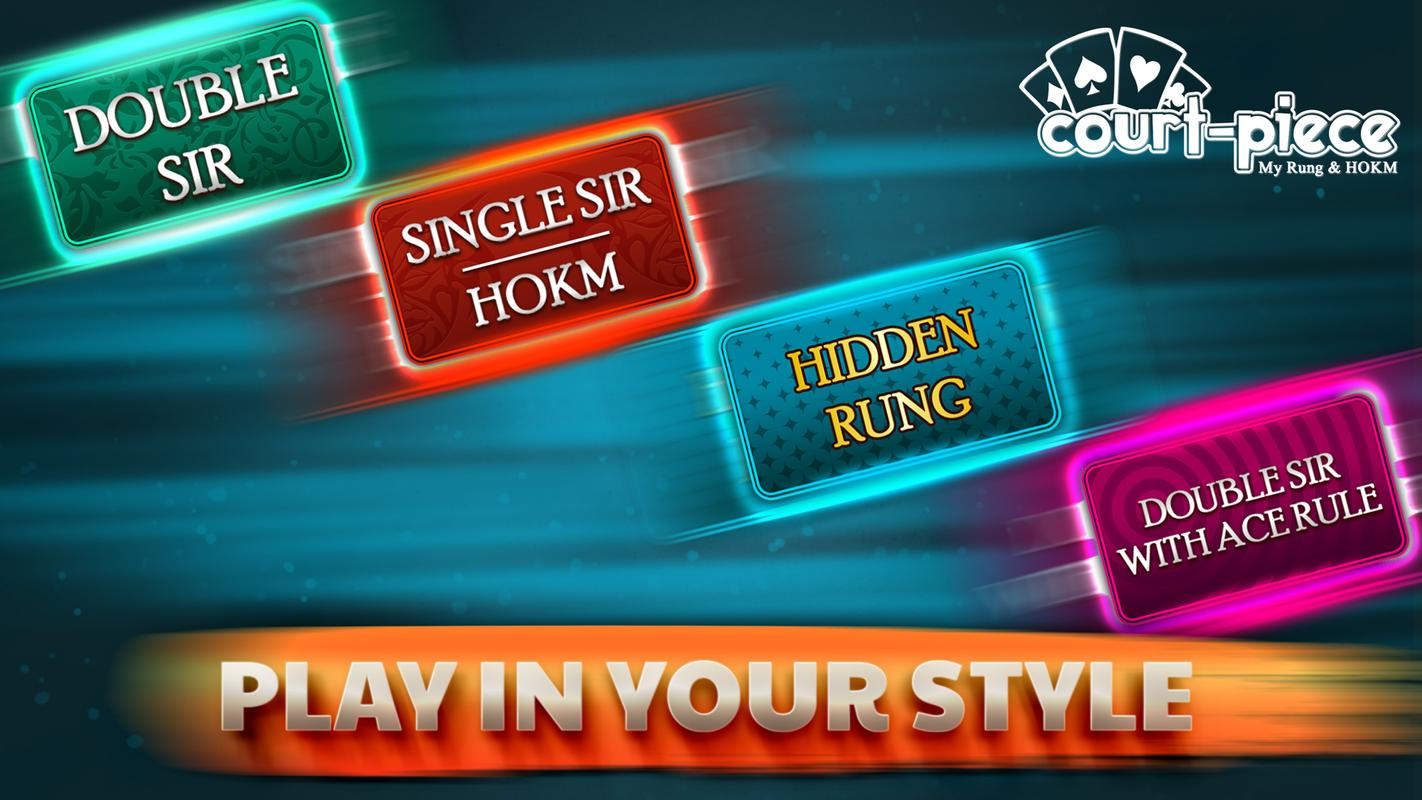 Rung Card Game Court Piece by Syed Hassan - appadvice.com