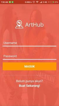 ArtHub poster