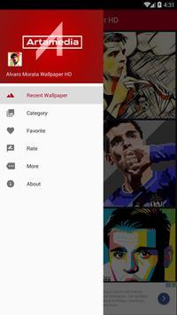 Alvaro Morata Wallpaper HD poster