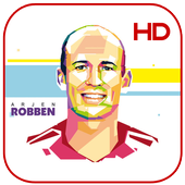 Arjen Robben Wallpaper HD icon