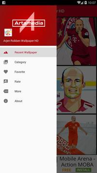 Arjen Robben Wallpaper HD poster