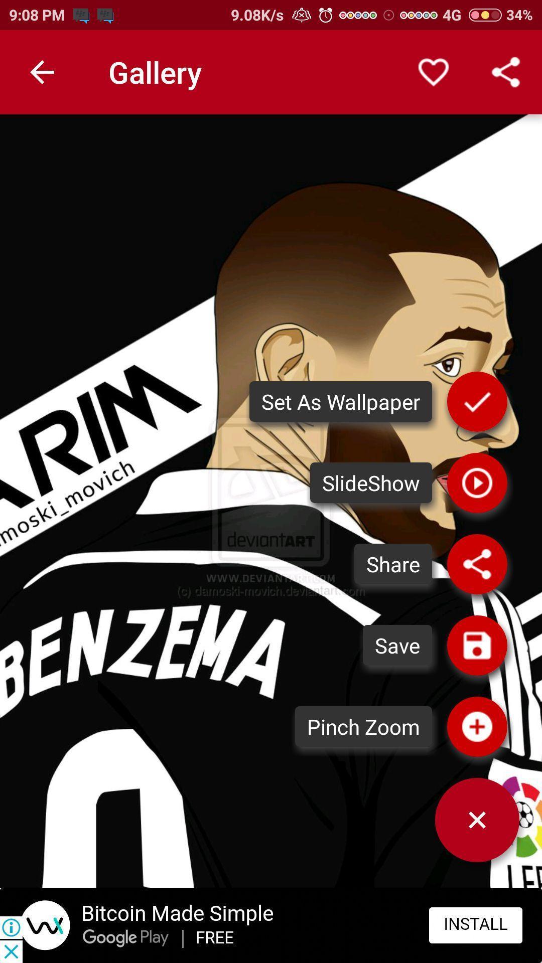 Karim Benzema Wallpaper HD poster