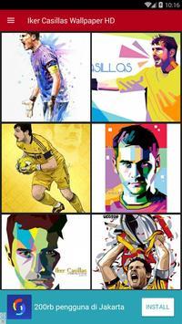 Iker Casillas Wallpaper HD screenshot 1