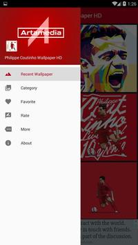 Philippe Coutinho Wallpaper HD poster