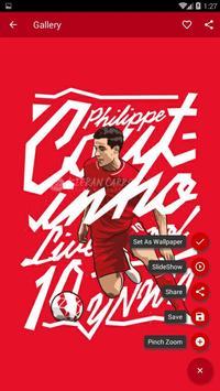 Philippe Coutinho Wallpaper HD apk screenshot