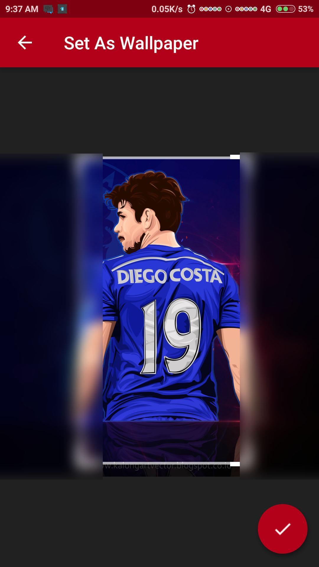 Diego Costa Wallpaper HD poster
