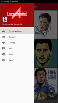 Eden Hazzard Wallpaper HD apk screenshot