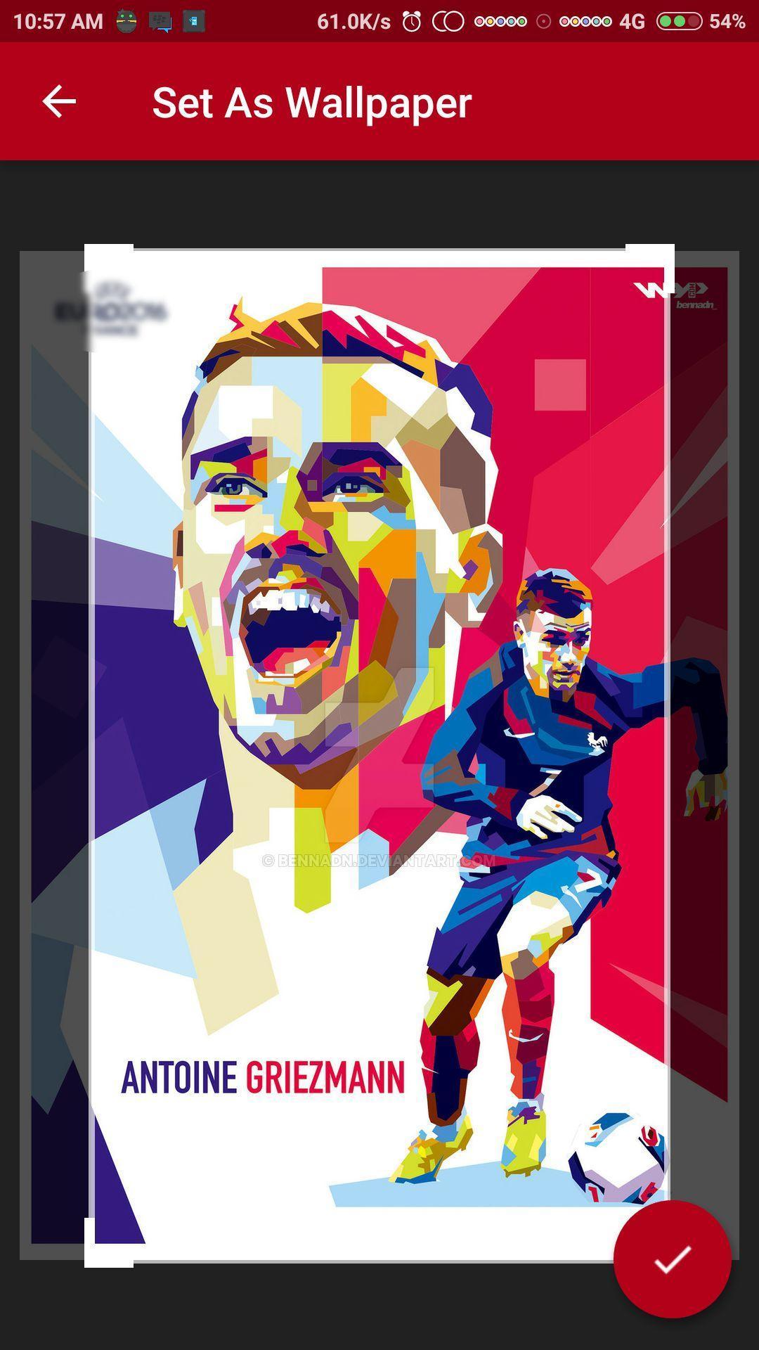 Griezmann Wallpaper HD poster