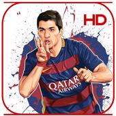 Luis Suarez Wallpaper HD icon