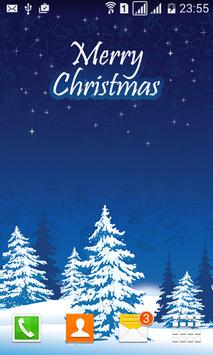 Merry Christmas Live Wallpaper poster