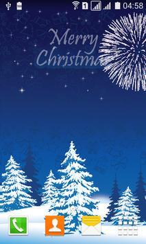 Merry Christmas Live Wallpaper screenshot 1