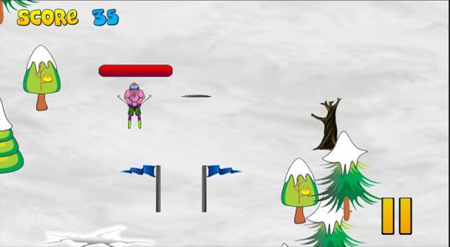 ArtCraft Skiing XL poster
