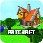 Artcraft building and exploration icon