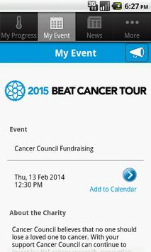 Beat Cancer Tour screenshot 3
