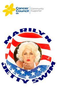 Marilyn Jetty Swim App poster