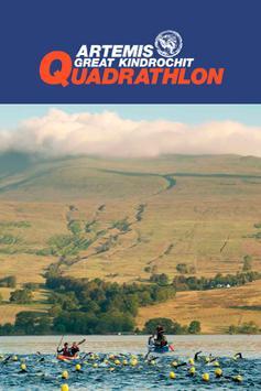The Artemis Quadrathlon poster