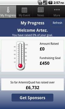The Artemis Quadrathlon apk screenshot