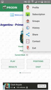 Prodin - Sport Pools apk screenshot