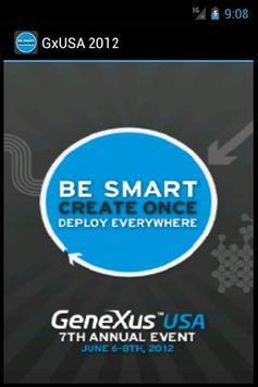 GxUSA 2012 poster