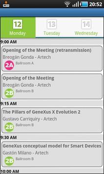 XXI GeneXus Meeting poster