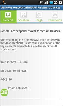 XXI GeneXus Meeting screenshot 2