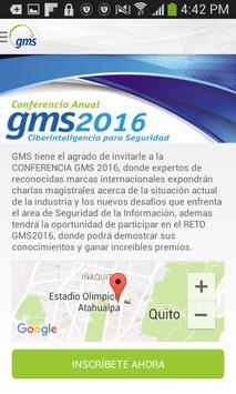 Evento GMS poster