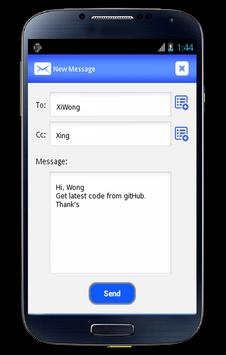 Short Email Service apk screenshot