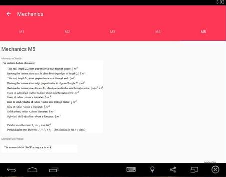 ArtefactPlus Maths Formula apk screenshot