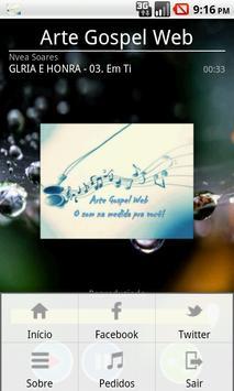 Arte Gospel Web apk screenshot