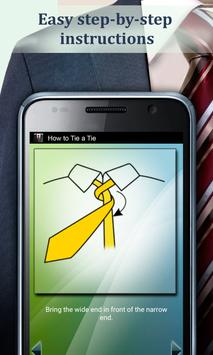 Como fazer um nó de gravata imagem de tela 2